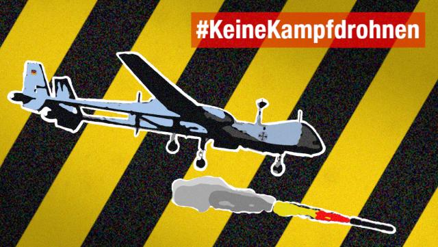Aktion1 - Keine bewaffneten Drohnen für die Bundeswehr!
